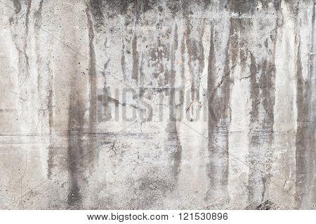 Dark Weathered Concrete Wall, Background Texture