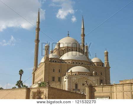 The great Mosque of Muhammad Ali Pasha or Alabaster Mosque, Cairo, Egypt