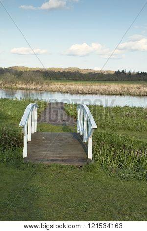 Small Bridge At The River