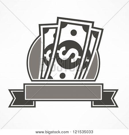 Paper Bank Notes & Ribbon
