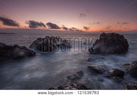 Rugged Coastal Sunrise