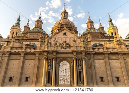 Our Lady of the Pillar Basilica Zaragoza, Spain