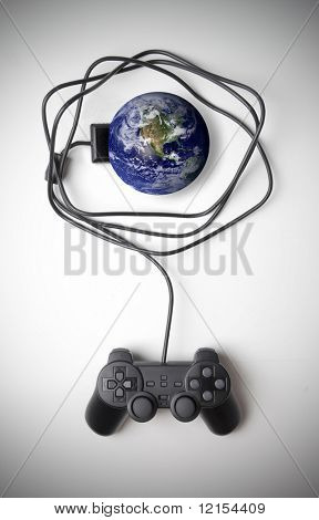 joypad hung to planet earth