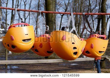 Helmets Climbers