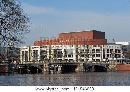 National Opera And Ballet In Amsterdam, Netherlands
