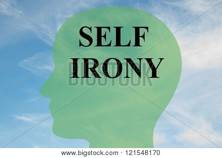 Self Irony Concept