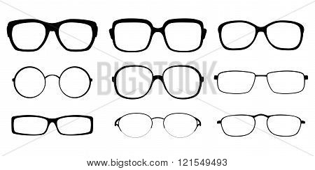 Set Of Spectacle Frames