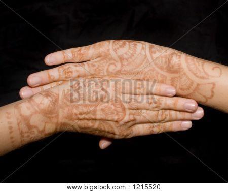 Mendhi Hands