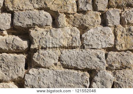 Walls in Yevre-le-chatel, Loiret, Centre-Val de Loire, France