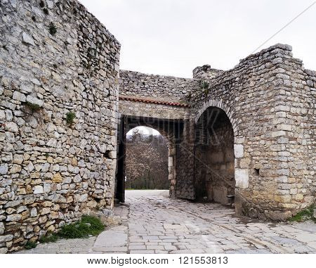 Upper Gate In Ohrid, Macedonia