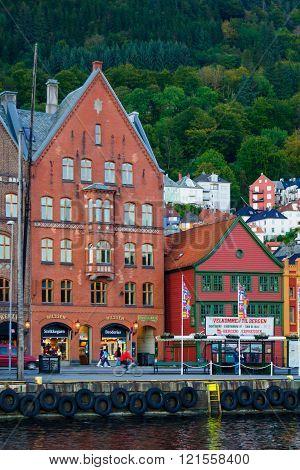 Bryggen, In Bergen