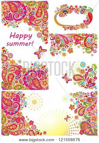 Abstract summery design
