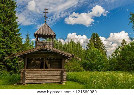 Small Wooden Chapel, Finland