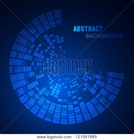 Hightech Graphic User Interface Vector Illustration