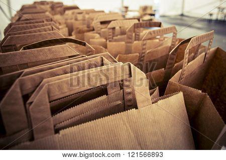 Lot Of Paper Bags