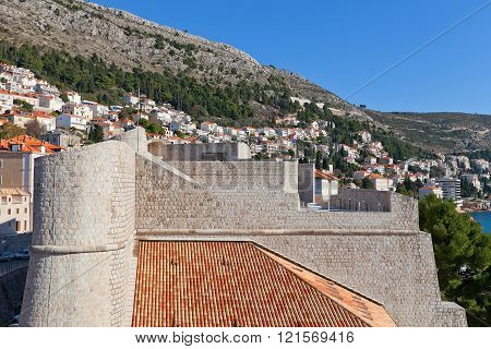 Revelin Fortress (1549) In Dubrovnik, Croatia. Unesco Site