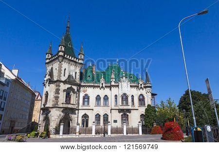 Jakab Palace In Kosice City, Slovakia