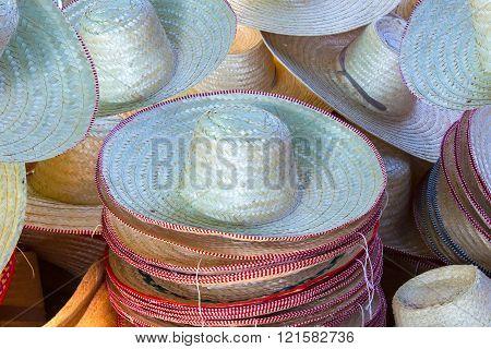 Handmade wooden caps