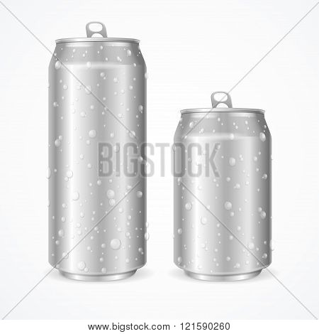 Wet Can. Vector
