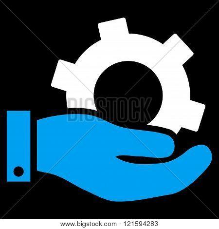 Service Flat Vector Symbol