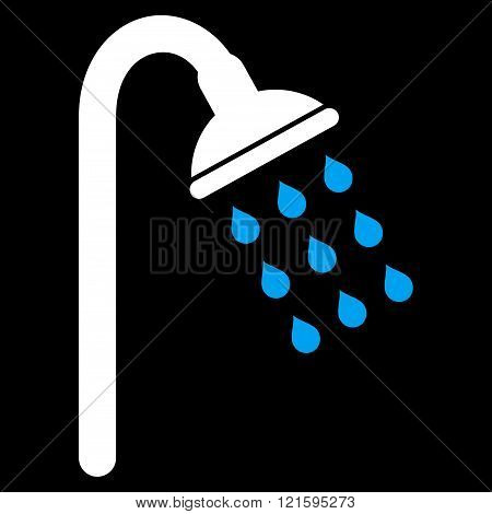 Shower Flat Vector Symbol
