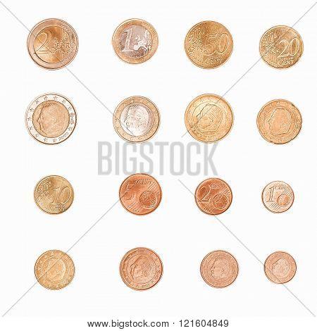 Euro Coin - Belgium Vintage