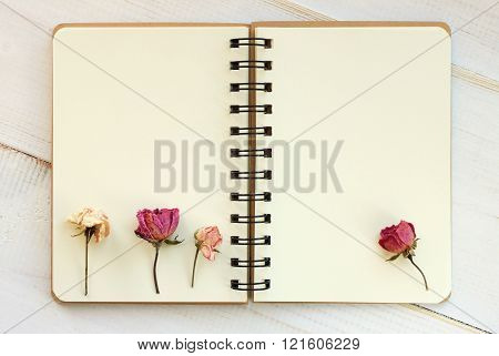 pages with flowers