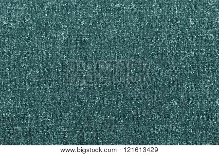 Abstract Speckled Texture Rough Fabric Of Green Color