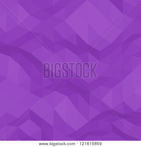 Purple abstract triangular background