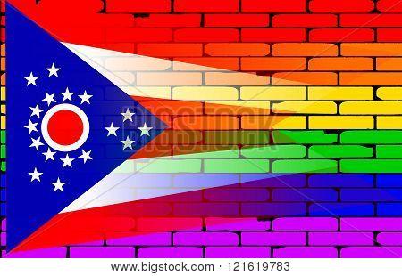 Rainbow Wall Ohio