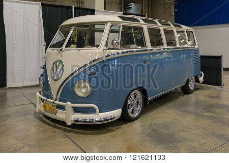 Volkswagen Kombi on display