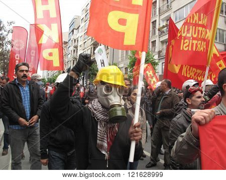 May Day in Istanbul