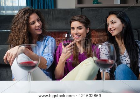 Girls time, wine and good talk.