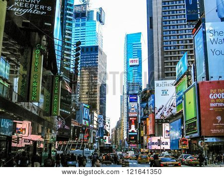 Times Square streets