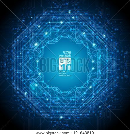 abstract background for futuristic high tech design