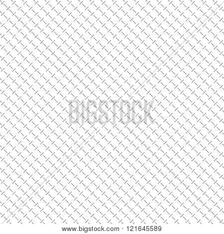 Seamless pattern. Abstract small textured surface. Minimal diagonal texture with repeating thin dashed lines. Vector minimalist linear background