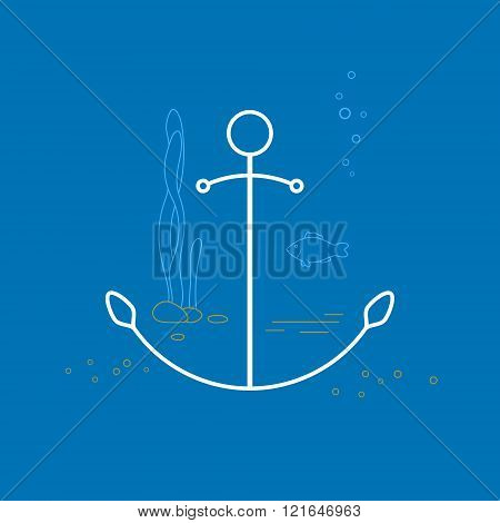 Anchor , Line Style Design