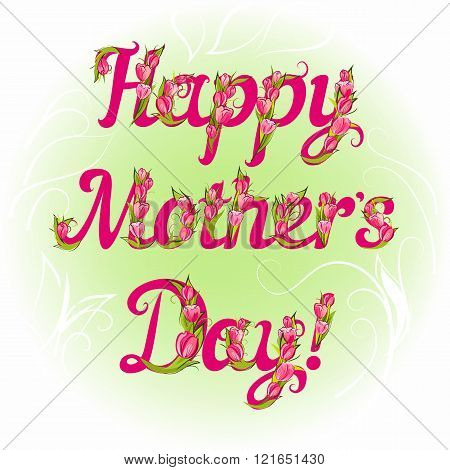 Happy Mother`s Day Greeting Card
