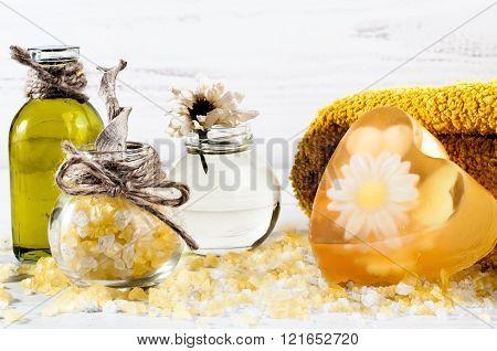 Spa, Oil, Bath Salt, Handmade Soap