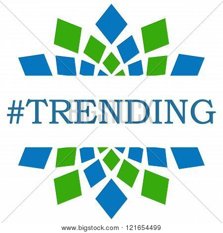 Trending Green Blue Square Elements Square