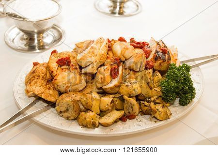 Catering Food Chicken Meat