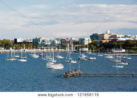 Geelong Waterfront and CBD