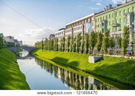 The City Of Kazan. Kazan river Bulak