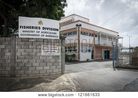 Ministry Of Agriculture Building In Bridgetown, Barbados
