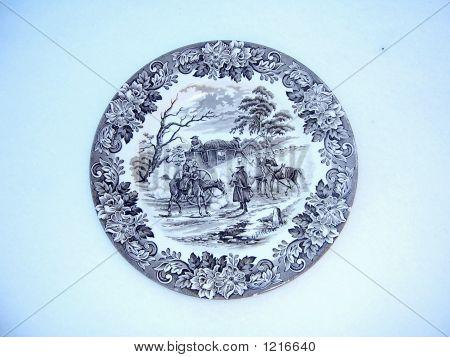 Decorative Plate English Style