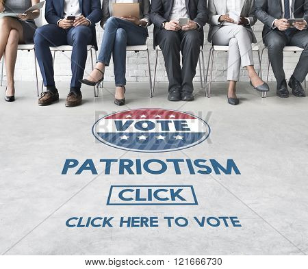 Patriotism Country Election Freedom National Concept