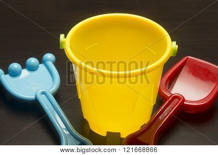 Sand Bucket and Scoops