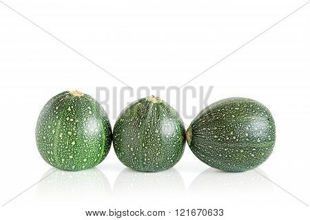 Three Eight Ball Squashes