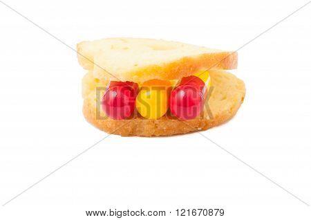 Pills Sandwich Concept