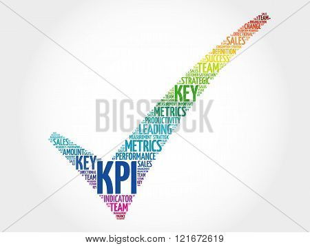 Kpi - Key Performance Indicator Check Mark